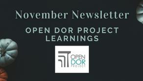 Open Dor Project Learnings