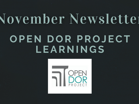Open Dor Project Learnings