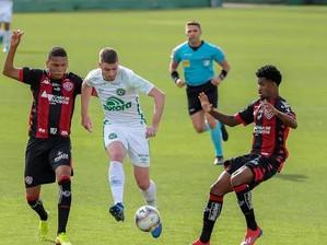 Serie B: Vitória empata com a Chapecoense fora de casa