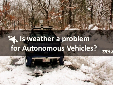 Is weather a Problem for Autonomous Vehicles?