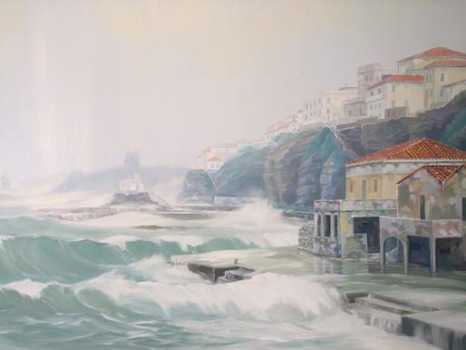 Η πόλη έμπαινε στη θάλασσα