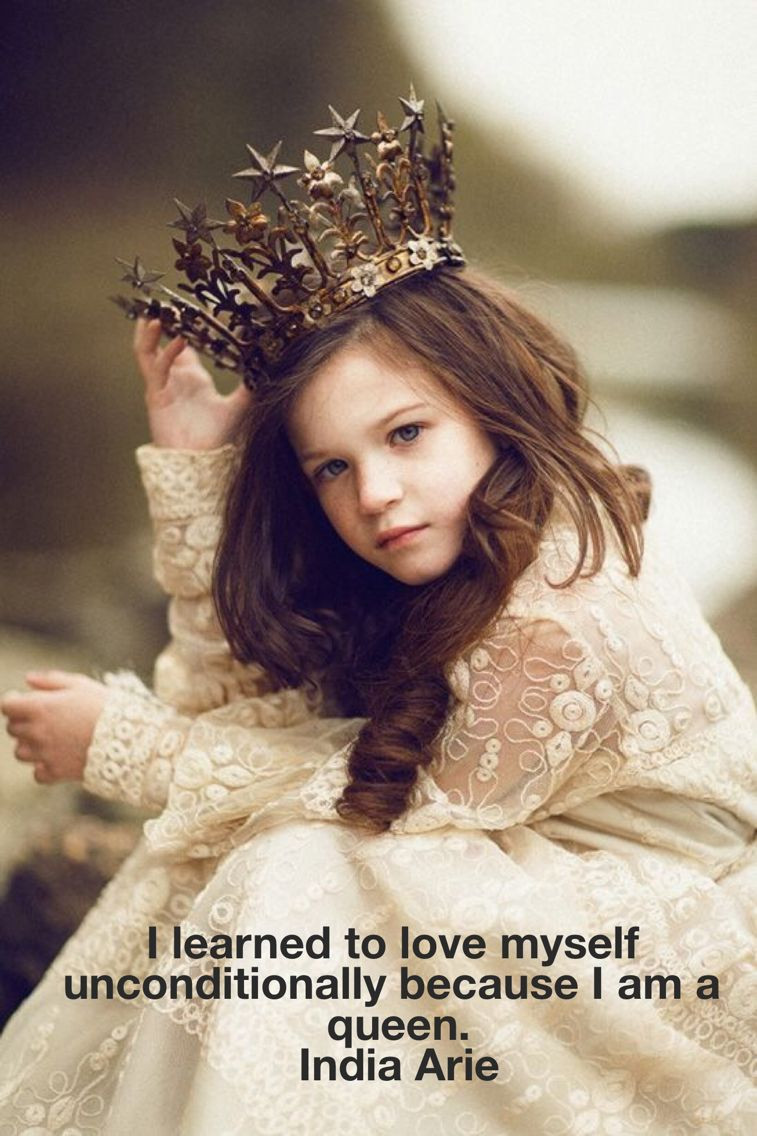 I learned to love myself because I am a queen!