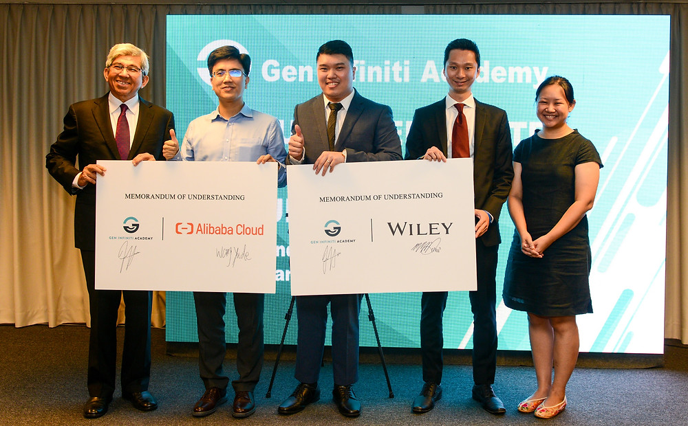 2 memorandum of understandings signed by alibaba cloud and wiley respectively