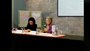 """Sol Rubín de la Borbolla y Libertad Mora: Presentación editorial """"Gasas Arte textil nahua"""""""