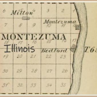 Rev. Elijah Garrison's land in Pike County IL