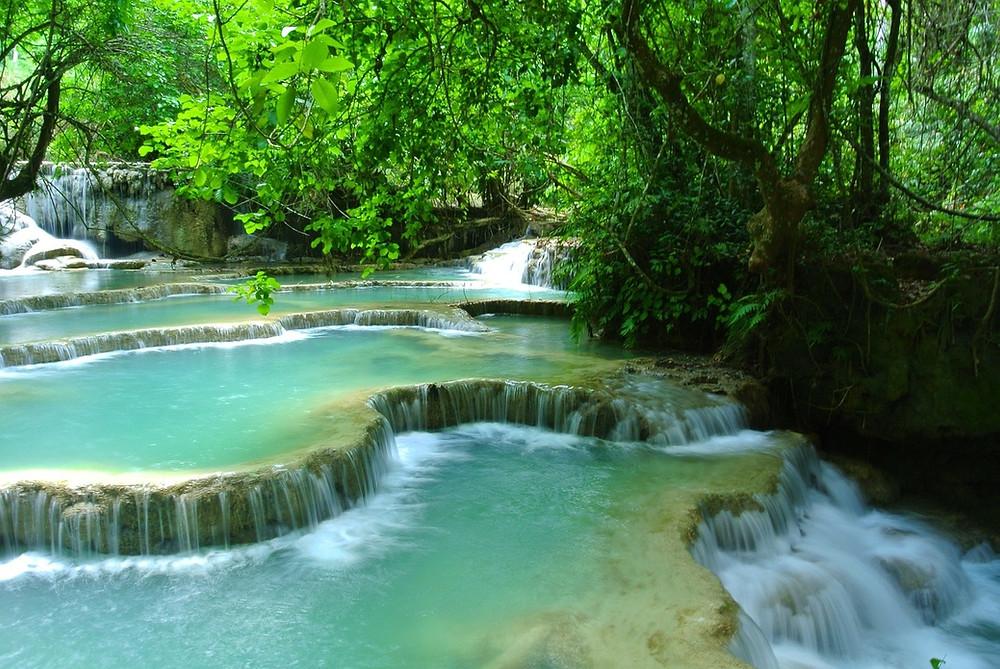 voyage chutes Tad Saé - Laos