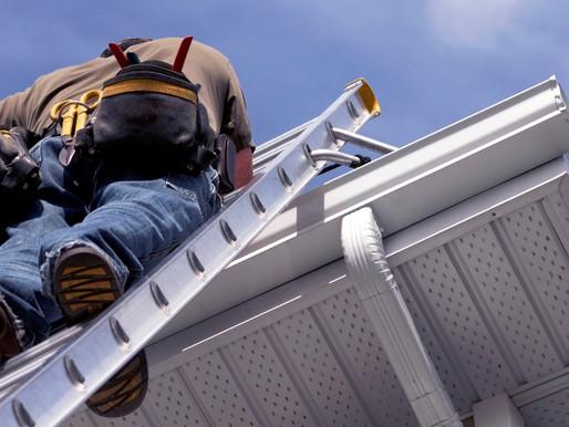 Unfälle mit Leitern häufigste Unfallart auf Baustellen
