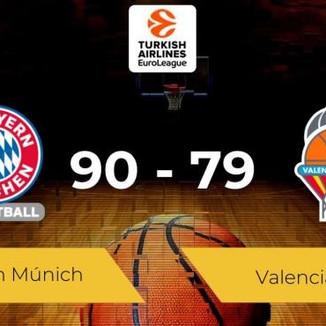 Valencia Basket cae derrotado ante un espléndido Bayern