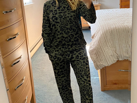 Walmart Leopard Pajamas - RUN!