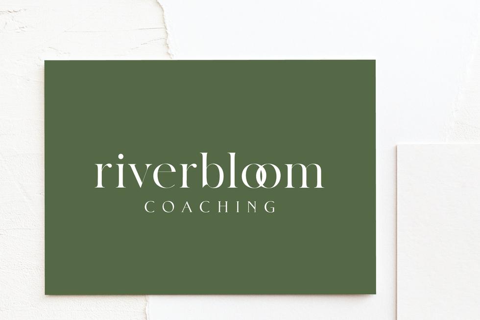 Riverbloom Coaching Branding | Brand Identity Design by Fresh Leaf Creative | Dorset Designer & Photographer