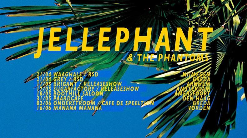 Jellephant brengt nieuw album: Skeletons
