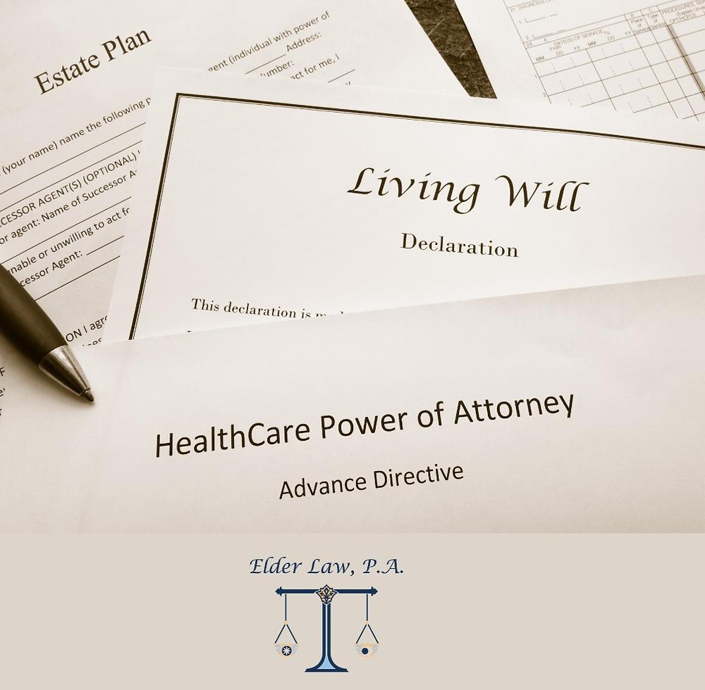 Estate planning, Living Will, Health Care Surrogate