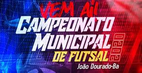 Evento: Campeonato Municipal de Futsal de João Dourado!
