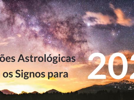 Previsões astrológicas para os signos em 2021