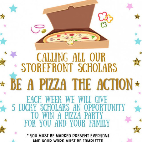 Be a Pizza the Action!