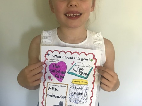 Ava's memories from this year (2VB)