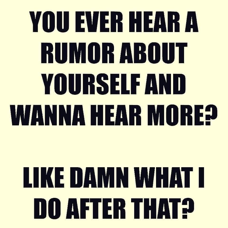 Rumor Memes