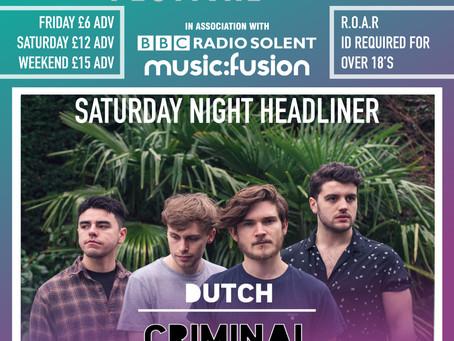 Lord John Russell Saturday night Headliner Revealed!