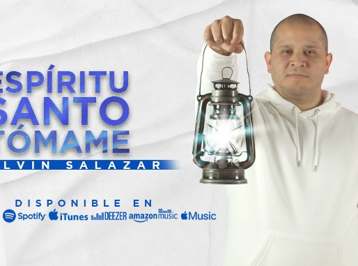 Melvin Salazar lanza «Espíritu Santo Tómame»