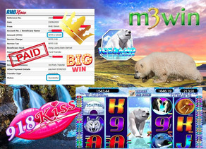 IceLand slot game tips to win RM6120 in 918kiss
