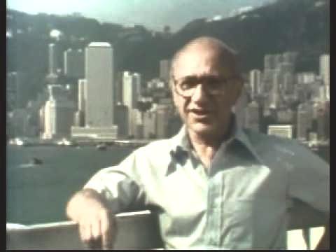 香港を訪れたネオリベラリズムの教祖、マネタリズムの主導者、ミルトン・フリードマン。Image: Internet