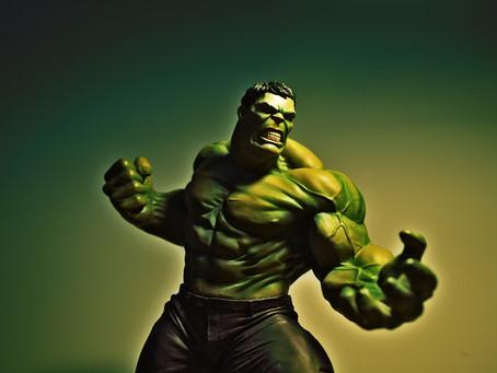 Radiation with the Hulk