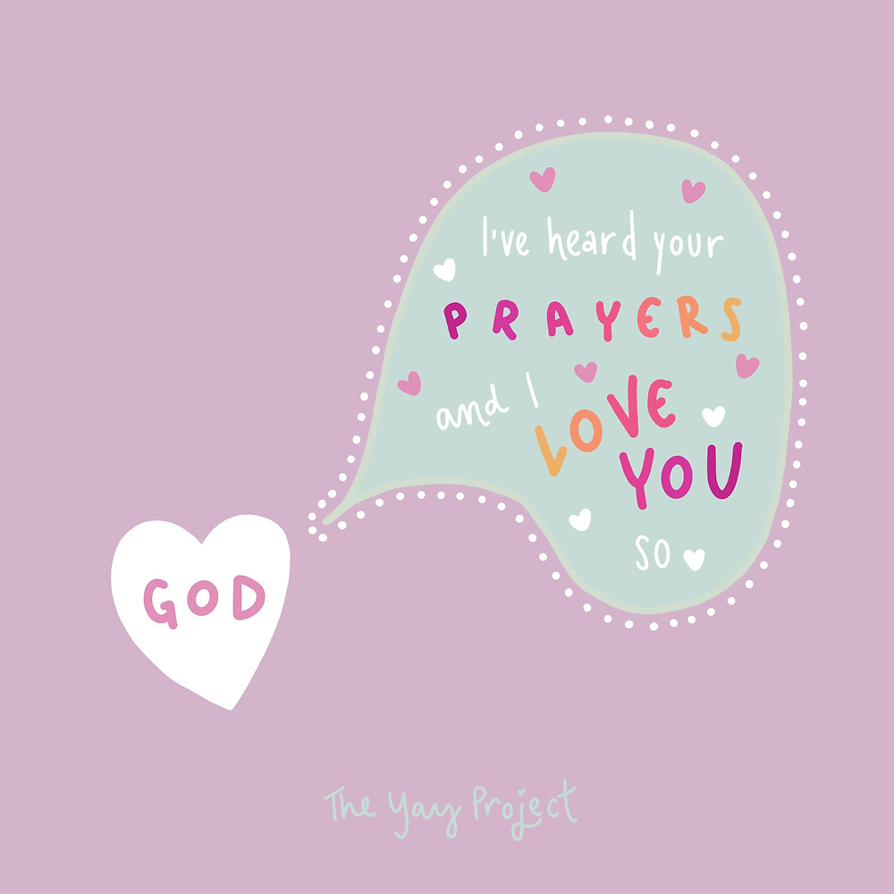Christian quote prayer encouragement by Jenni Lien of The Yay Project