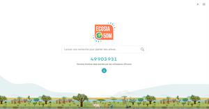 Ecosia moteur de recherche écologique arbre bilan carbone reforestation