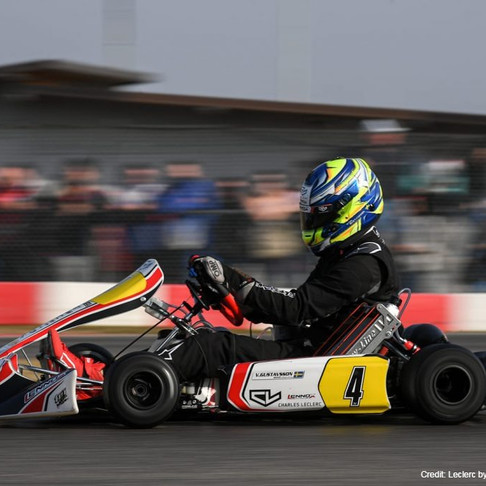 Leclerc by Lennox Racing: First season Top-10 at Lonato.