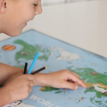 WHY EVERY CHILD NEEDS A WORLD MAP