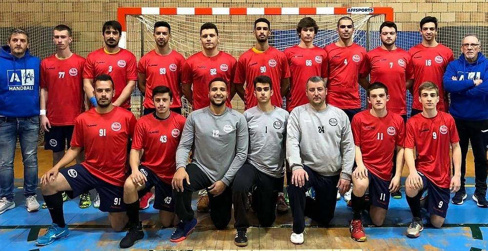 Equipe da Academia de Andebol de São Pedro do Sul (foto arquivo pessoal)