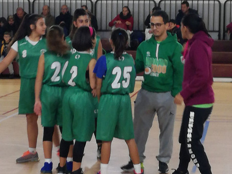 Under 13 Femminile dura lezione ad Alghero