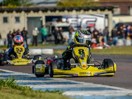 Alfredinho Ibiapina busca a primeira vitória na Copa Super Paraná de Kart