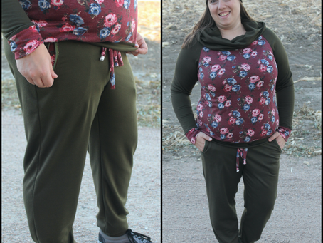 Sew Along with ALD: Rad Patterns Couch Potato Joggers