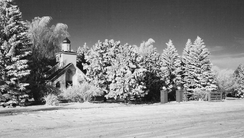 Wintertime at Saint Demetrius Ukrainian Catholic Church