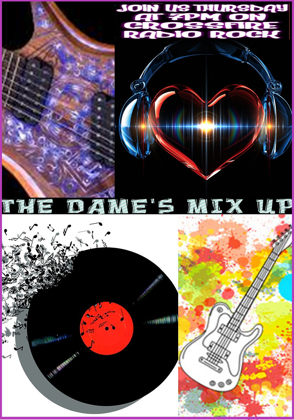 the dames mix up on crossfire radio rock