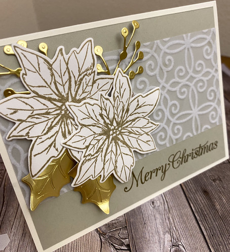 101 Ways to Make a Poinsettia Card