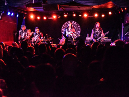 The 69 Eyes and Wednesday 13 Kick Off Tour in Brooklyn