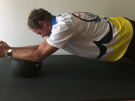 Core Stability and Strength is Key