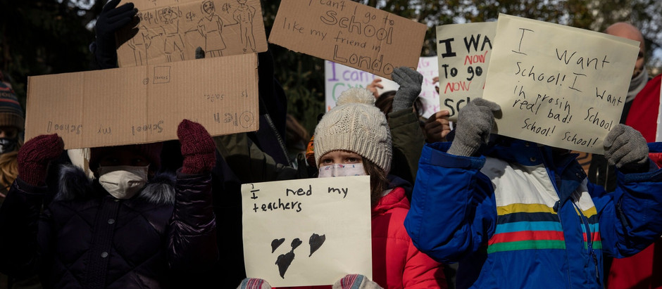 'Remote Learning Is Not Working': Shutdown Hurts Children, Parents Say