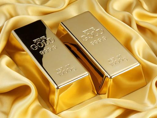 Восстановление стоимости золота в 2019 г.