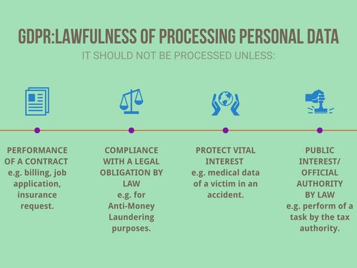 Os seus dados pessoais estão a ser tratados de forma licita?