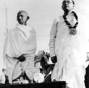 Subhas Chandra Bose's evaluation of Gandhi - Indian Struggle