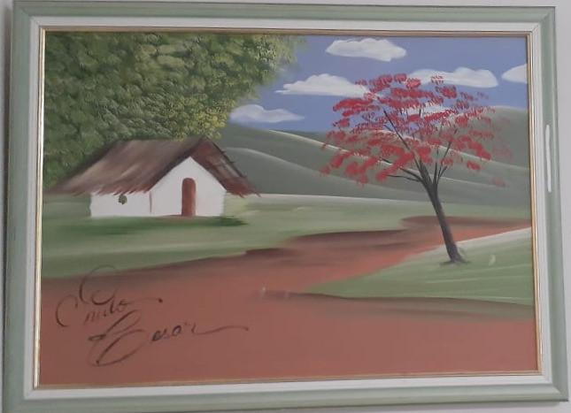 Uma pintura do P. C. P. Jr.