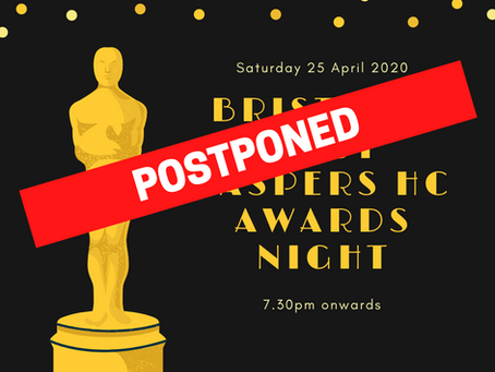 Postponed - End of Year Awards Dinner 2020