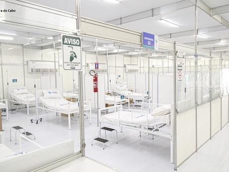 TCE vê indícios de sobrepreço em hospital de campanha do Cabo