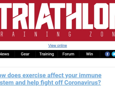 Training guidelines during Coronavirus