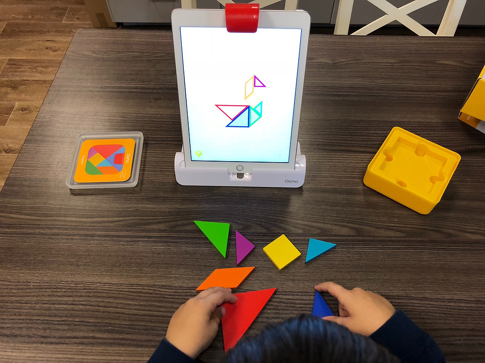 Lag et likt mønster som du ser på iPad.