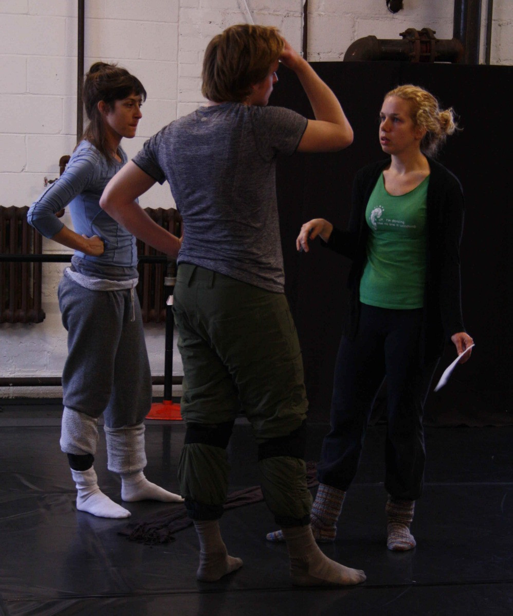 Tracey Norman (choreographer) Jesse Dell, Sky Fairchild-Waller (interpreters)