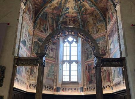 Visiting Benozzo Gozzoli in Montefalco, Umbria